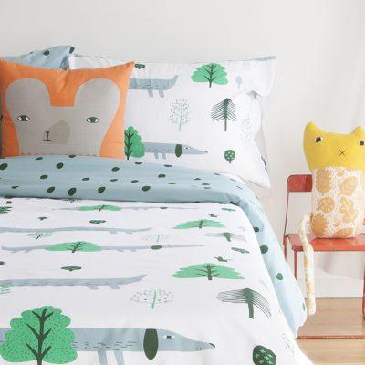 Donna Wilson Sausage Dog Bed Set + Bear Cushion