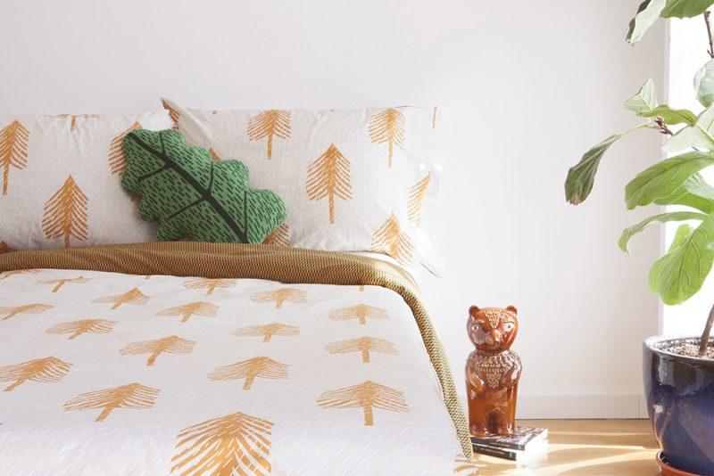 Donna Wilson Single Tree Bed Set Cream