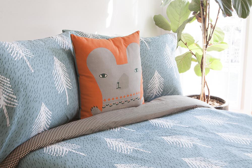 Donna Wilson Single Tree Bed Set - Duck Egg