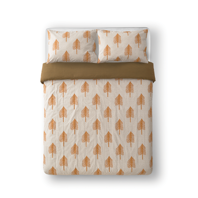 Donna Wilson Single Tree Bed Set Cream