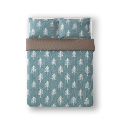 Donna Wilson - Single Tree Bed Set - Duck Egg