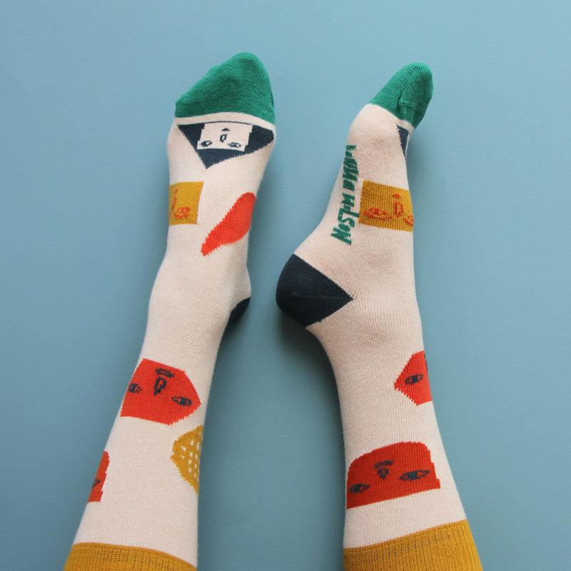 Socks - Pick 'n' Mix Socks - Donna Wilson