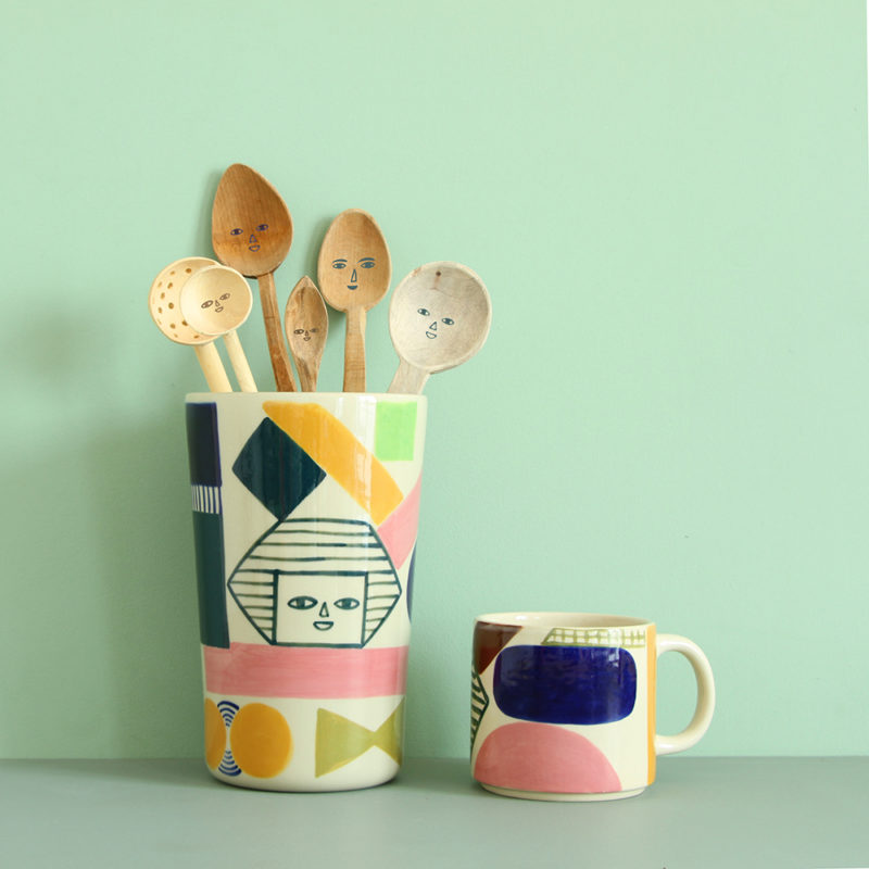 Kaleido Vase & Mug - Donna Wilson