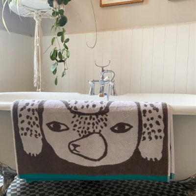 Bear Towels - Grey - Donna Wilson
