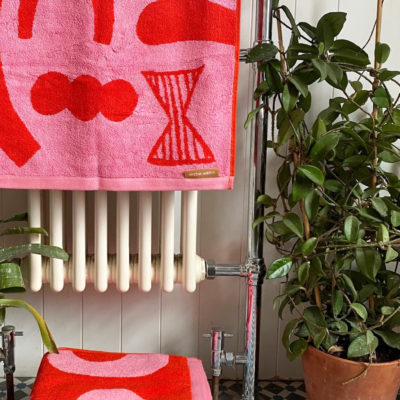 Abstract Shapes Towels - Donna Wilson