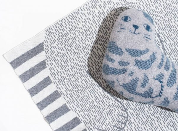 Selkie Seal & Seal Mini Blanket for V&A Dundee - Donna Wilson